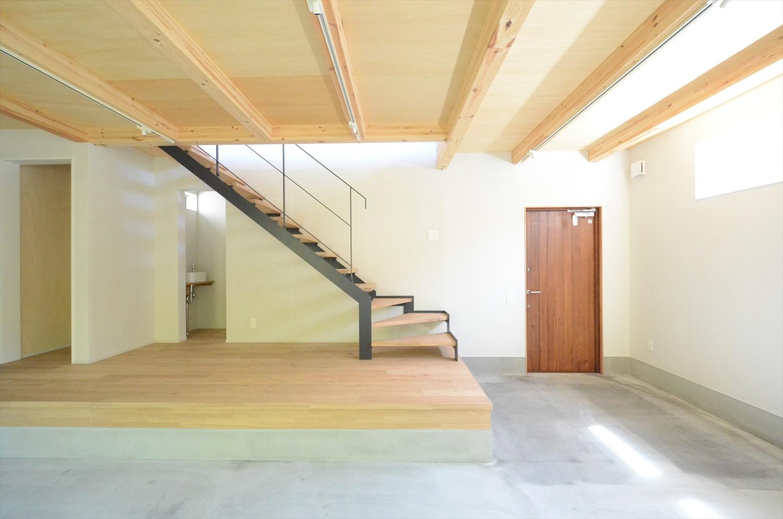 1階に土間のある家